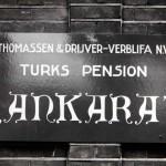 Kutu fabrikası Türk işçilerinin kaldığı Ankara pansiyonu